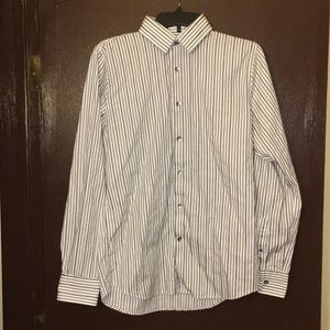Express extra slim fit dress shirt size medium